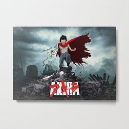 Tetsuo Akira Poster Metal Print