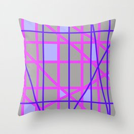 Abstract RP Throw Pillow
