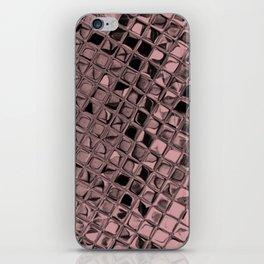 Metallic Bridal Rose iPhone Skin
