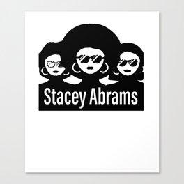 Stacey Abrams Georgia Canvas Print