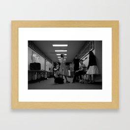 Theater Family Framed Art Print