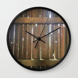 Sunlight Through the Barn Wall Clock