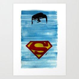 Minimalist Super Art Print