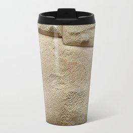 Inca Stone of 12 Angles in Cusco Peru Travel Mug