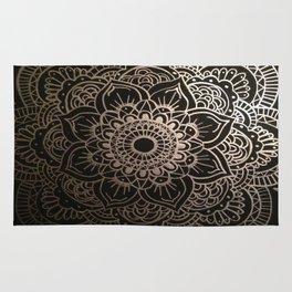 Silver Mandala Rug