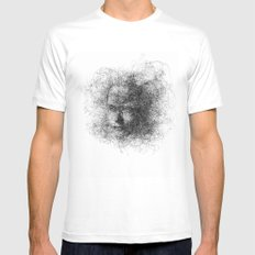 Cloud White Mens Fitted Tee MEDIUM