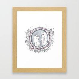 3 little bears Framed Art Print