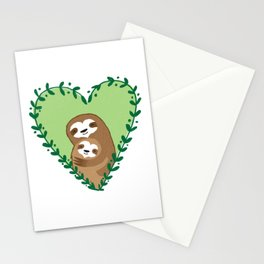 The Family Sloth Stationery Cards
