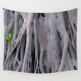 Banyan Tree Trunk Wall Tapestry
