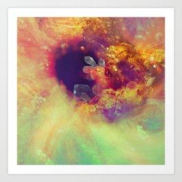 Dehiscence 21 Art Print