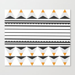 Tribal Lou Canvas Print
