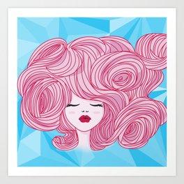 Comprate tu álbum de princesas Art Print