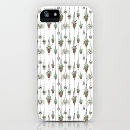 Hanging Plants iPhone Case