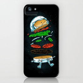 The Astronaut Burger iPhone Case