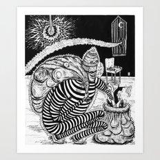 Time Burglars Art Print