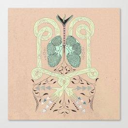 Circulation. Canvas Print
