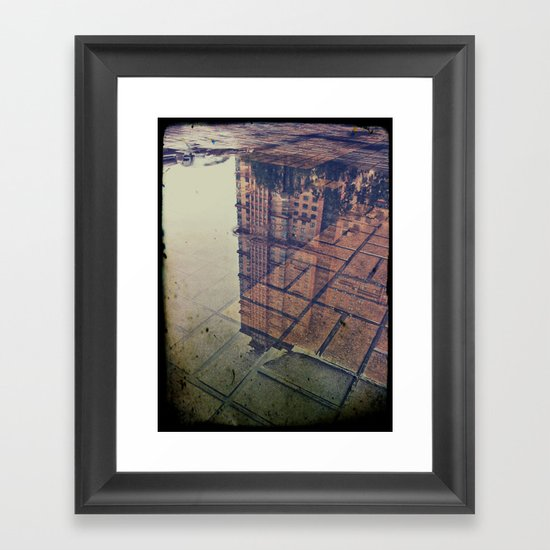 scarlet sails Framed Art Print