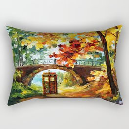 starry Abandoned phone box Under the bridge iPhone 4 4s 5 5c 6, pillow case, mugs and tshirt Rectangular Pillow