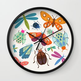 Bug Collective Wall Clock