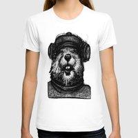 beaver T-shirts featuring Mr. Beaver by Mitzek