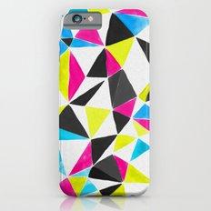 watercolor geometry CMYK iPhone 6s Slim Case