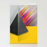 pyramid Stationery Cards featuring Pyramid by ohzemesmo
