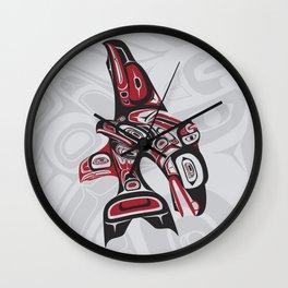 Eagle Fin Orca Lund Wall Clock