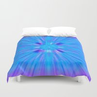cracked Duvet Covers featuring Cracked! by Shawn King
