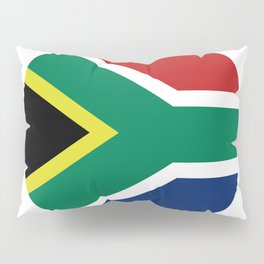 south africa flag Pillow Sham