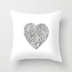Heart I Throw Pillow