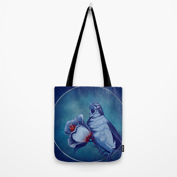 The Nightingale And The Rose Tote Bag