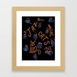 Jazz festival marciac Framed Art Print