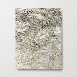 Digital Coral Metal Print