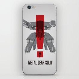 Metal Gear Solid Movie Poster iPhone Skin