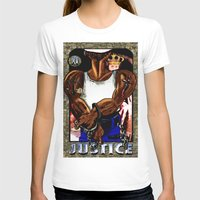 justice T-shirts featuring justice by Dante r Hadley
