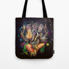 Colorful Ganesh Tote Bag