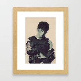 Elf Jinyoung Framed Art Print