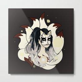 Kitsune's Soul - Japanese Fox Spirit Metal Print