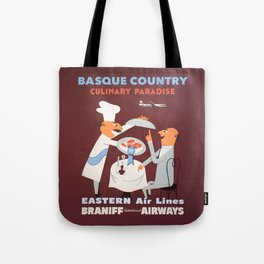 Basque Country culinary paradise Tote Bag