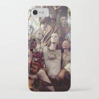 animal crew iPhone & iPod Cases featuring crew by SarahPerez