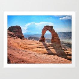 Arches, Moab, Utah Art Print