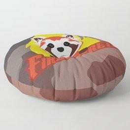 Fire Ferrets Floor Pillow