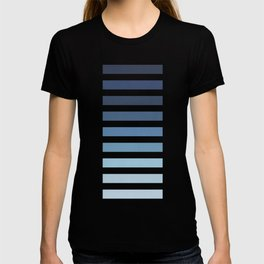 Sky and Water Blue Palette T-shirt
