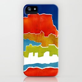 Greek islands 5 iPhone Case