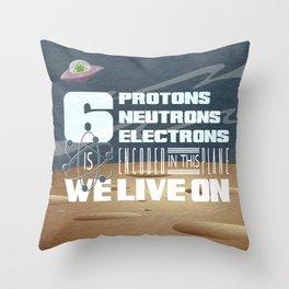 311 - Galaxy Throw Pillow