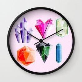 Crystal and Gemstones Vol 2 Wall Clock
