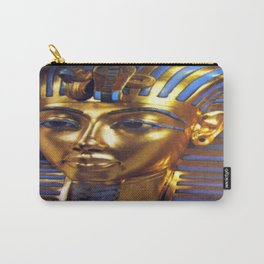 Gold Mask Carry-All Pouch