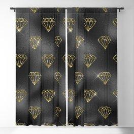 Black Gold Elegant 10 Blackout Curtain