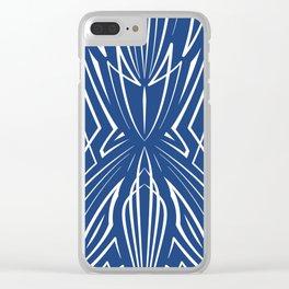 Pinstripe Pattern Creation XIX Clear iPhone Case
