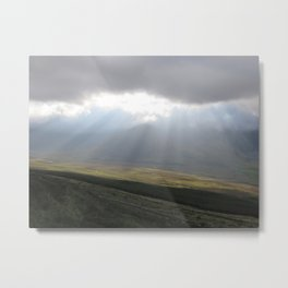 Rays of Light Metal Print